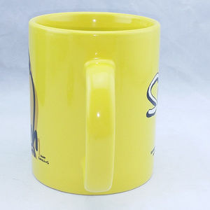 The Simpsons Dining - The Simpsons Homer Coffee Mug Rare Yellow Cup 12oz